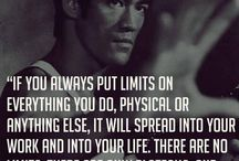 Bruce lee quote / Quote