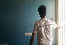 Room Wall Painter / http://www.rathidecor.in/painting-contractors.html