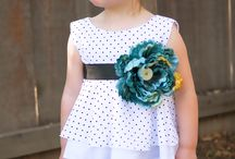 Little girls outfits / by Marjorie Krout