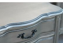 Silver paint furniture