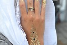 Gold tatto