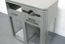 Security Bins / Bins designed for sensitive areas such as Airports and Shopping Centres.