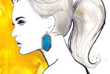 Art I Fashion Illustration / Fashion Illustration Inspiration