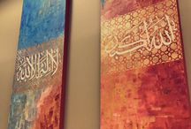 Arabic calligrapy