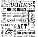 Young Women / my other YW boards- Young Women activities, Personal Progress, and 2013 Stand Ye in Holy Places