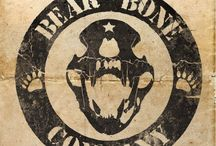 Bear Bone Company / A band. Hard Rock. They call it Heavy Rock. For fuck's sake. But it is good, no doubt about it.