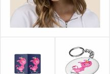 Cute Cartoon Unicorns Collections of T-Shirts, gifts and accessories by Cheerful Madness!! at Zazzle