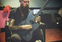 Jim Root from Slipknot