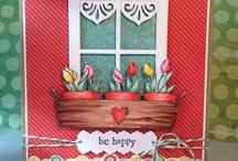 Window Cards / by Kathy Hardy