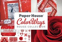 ColorWays Rouge Collections / Paper House ColorWays Rouge Collection