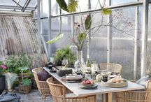 Green living / It is all about embracing nature, bringing the outside in. We want to feel connected to nature. It gives us a sense of balance and brings authenticity to our homes. So expect to see more interiors filled with pots, plants and natural materials. It's time to go green.