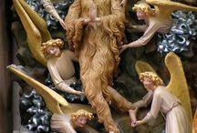 Maria Magdalena w stroju z włosów (St. Mary Magdalene's hair suit) / Obrazy, ryciny, rzeźby i inne formy przedstawień Marii Magdaleny/Marii Egipcjanki w stroju z włosów. Data powstania + miejsce/przypisywane autorstwo.