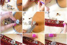 tutorial handmade sandals