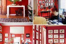 rode muur