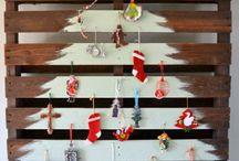 Weihnachten dekorative holz