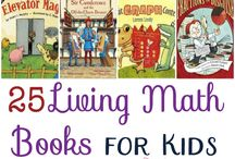 Book List: Math / Literature about math; mathematician biographies; math topics for homeschool.  Math supplements, not text books.  Math book lists for all ages and stages. Homeschooling, unschooling, project-based learning, unit studies.