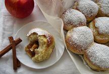 buchty pieczone z jabłkami