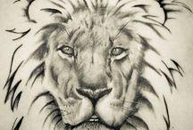 tatoos leão