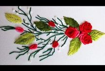Bordados de flores