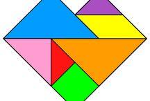 numeracy tangrams