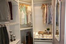 Dream closets and Organization