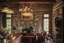 Eu quero uma casa no Campo! Cabin. / by Alisson Mazzei