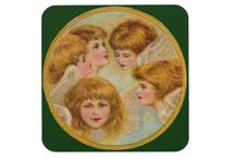 Christmas - Vintage Christmas Angel / Vintage Christmas Angel, angelic, traditional, nostalgic, old-fashioned