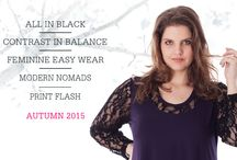 Exelle Autumn 2015 / New collection exelle, Curvy Fashion for Real Women.