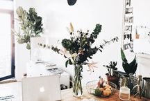 workspace / Inspiration for the perfect dream office