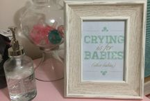 Madeline's Girly Chic Nursery / Madeline's nursery is classic and girly with hints of cream, soft pink and mint green