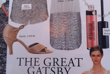 "MOVIE INSPIRATION / ""Whiite and `THE GREAT GATSBY`occupies IN Magazine"