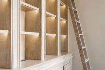 Bookshelves and Built-ins