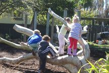 Kids - Natural and recycled playgrounds