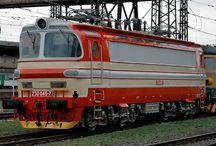 lokomotivy ČSD-ČD-ŽSR