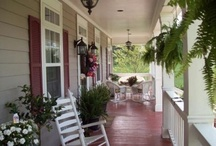 House: Covered Porch / by Kate Krue