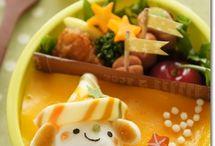 可愛いキャラ弁 / 可愛い食べ物