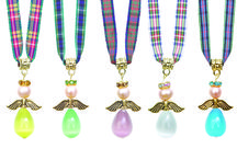 Tartan Twist Tartan Angels / Our best-selling collection of delightful Angel necklaces and bag charms. Each one has a different meaning.