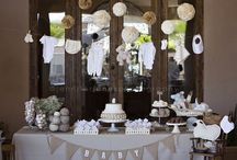 * baby shower sweet table