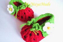 baby socks and booties to crochet