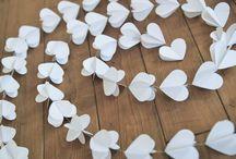 Свадебные украшения из бумаги