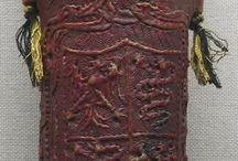 stredoveke puzdra z kože