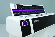 """select™ Sewing Machine / Ultimate Ease – High Quality – PFAFF® Design The select™ sewing machine is equipped with well known features like IDT™ System, and the convenience of a PFAFF® Original: the """"Easy select™ System"""". Simply press and sew! / by PFAFF®"""