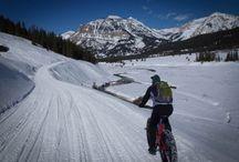 Fat Biking / Your guide to everything fat biking. Make mountain biking a year-round sport with fat tired bikes!