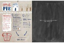 recipe page designs
