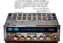Vintage Audio Visual Gear Tribute / We love vintage audio visual gear and to be honest a lot of our personal home gear is vintage too, maybe just like some of you avid collectors. We'll have a throwback every Thursday to celebrate amazing brands in their Heyday by pinning their print ads. Talk about the good old days, nostalgia.