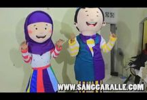 Mascot Costumes - Hafiz & Hafiza