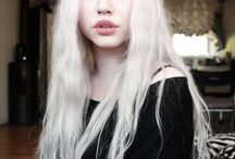 Platinum Haired Women
