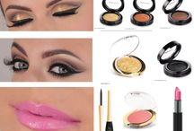 SETS DE MAQUILLAJE - HAZLO TU MISMA / Todos los productos necesarios de Golden Rose para que tú misma te hagas el maquillaje de la foto