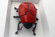 ceramiczne owady
