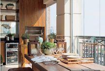 ESPAÇOS e VARANDAS GOURMET / Fotos com dicas e sugestões de espaços e varandas gourmet